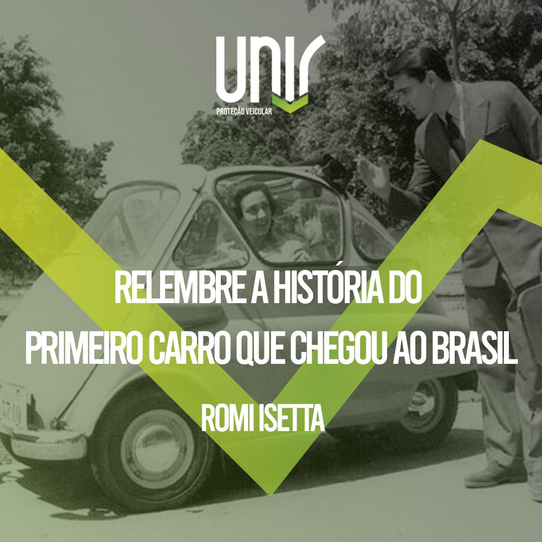 relembre a historia do primeiro carro